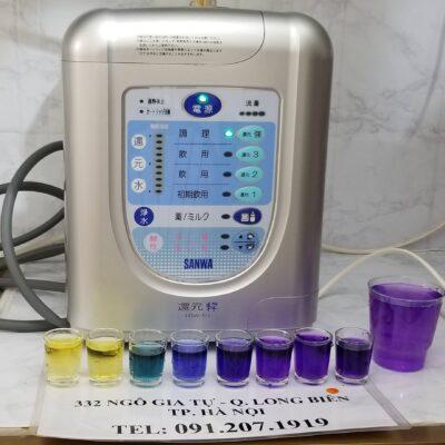 Máy lọc nước ion kiềm sanwa rw5