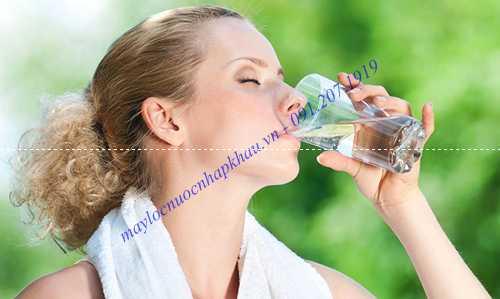 Nước ion kiềm tót cho sức khỏe
