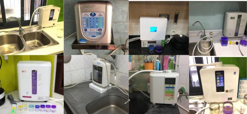 Hình ảnh lắp máy lọc nước ion kiềm tại Hà Nội