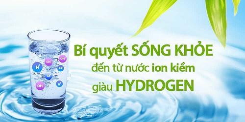 Nước ion kiềm tốt cho sức khỏe