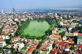 Quận Hoàn Kiếm nhìn từ trên cao