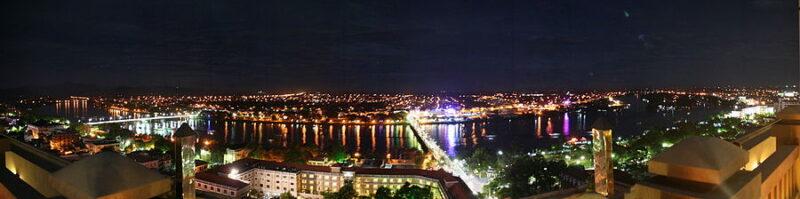 Thành phố Huế bên bờ sông Hương