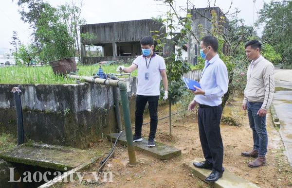 Nguồn nước sinh hoạt tại Lào cai